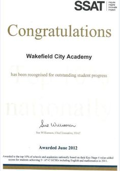 Wakefield City Academy an IRIS Connect user, has been selected for an important new role aimed at raising standards nationally. Teaching Schools, Wakefield, Raising, Iris, Connect, Student, City, Irise, Irises