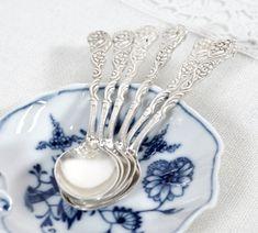 Swedish Demitasse Spoons Amsterdam Nils Johan Silver Plated | Etsy