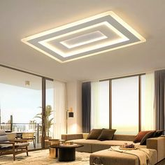 Cheap ceiling lamp fixture, Buy Quality modern led ceiling lights directly from China modern led Suppliers: NEO Gleam Ultra-thin Surface Mounted Modern Led Ceiling Lights lamparas de techo Rectangle acrylic/Square Ceiling lamp fixtures House Ceiling Design, Ceiling Design Living Room, Bedroom False Ceiling Design, Ceiling Light Design, Home Ceiling, Ceiling Chandelier, Living Room Lighting, Living Room Designs, Ceiling Lighting