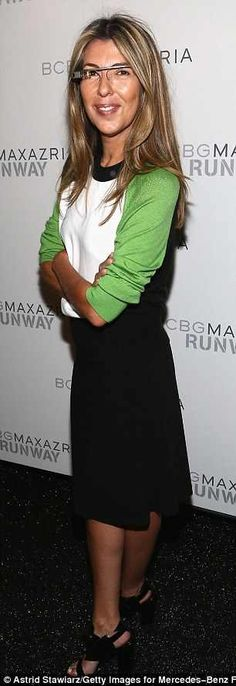 Nina Garcia| Green and Black