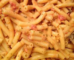 Rezept Nudeln mit Shrimps in Tomatensauce von Schlumpf2012 - Rezept der Kategorie Hauptgerichte mit Fisch & Meeresfrüchten