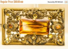 Hey, I found this really awesome Etsy listing at https://www.etsy.com/il-en/listing/231940574/on-sale-vintage-brooch-czech-gold-tone