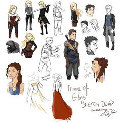 Throne of Glass: DUMP by compoundbreadd