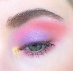 Monolid Eye Makeup, Eye Makeup Art, Skin Makeup, Makeup Inspo, Eyeshadow Makeup, Makeup Inspiration, Makeup Brushes, Eyeshadow Palette, Foil Eyeshadow