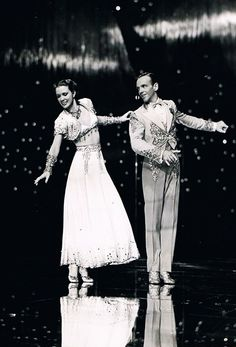 Eleanor Powell and Fred Astaire in Broadway Melody of 1940