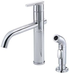 View the Danze D405558 Kitchen Faucet - Includes Metal Side Spray From the Parma Collection at FaucetDirect.com.