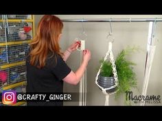 DIY Macrame Tutorial: Macrame Plant Hanger for Beginners #2 of 4, My Crafts and DIY Projects