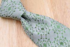SPRING TIME Ted Baker Archive Light Green Self Tipped mens Silk Tie #TedBaker #NeckTie