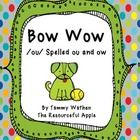 This is a great reading and spelling pattern game with /ou/ spelled ou and ow. It compliments spelling practice as well as being super for decoding...