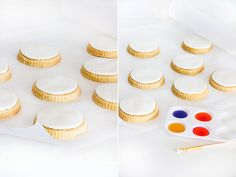 These paintable watercolor cookies have steps that can suit all different ages, and it is plenty of fun for all. This recipe doubles as a great creative play activity for your kids