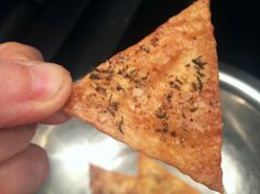 Duck fat crackers make a wonderful New Year's Eve treat!