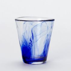 :O !! This is so beautiful, I can't even handle it. $8 Dissolved Cobalt Glass