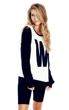 Wildfox Couture W Baggy Beach Jumper