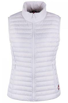 Colmar Damen Daunenweste Punk Jupiter-Light Steel | SAILERstyle Punk, Winter Jackets, Vest, Fashion, Mandarin Collar, Women's, Winter Coats, Moda, Winter Vest Outfits