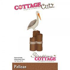 CottageCutz Stanzform Pelikan / Pelican CC-118