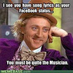 A Musician!