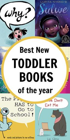 Best New Toddler Books of the Year Best Children Books, Toddler Books, Childrens Books, Preschool Books, Toddler Preschool, Book Activities, New Children's Books, Good Books, Literacy Games