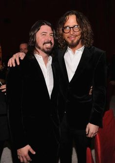 Grohl and Cornell