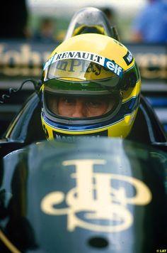 Ayrton Senna, 1986