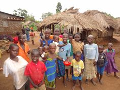 We are located in villages in northern Uganda, with the central location being Gulu