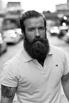 This is my favorite look...long #beards with short hair. #beardlover #beardnation