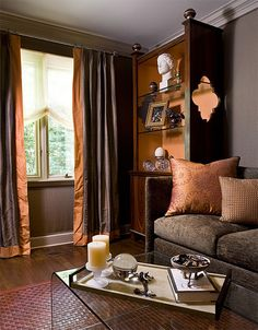 Northern Westchester Estate Loveeeee That Color Orange, The Textures, With  The Almost Chocolate Brown Color Inspiration Jewel Tone Part 71