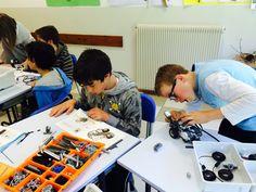 Robotica in Trentino scuola media 16/04/2015