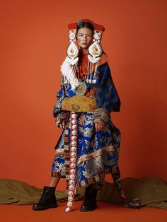 Tibet Girl by KIKIXUE for AYOU 2015AW