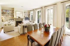 living /  dining room By Candlewick Interiors