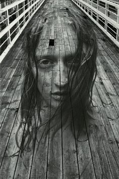 Boardwalk Portrait, Moscow, Russia