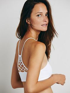 Intimately Strappy Back Bra at Free People Clothing Boutique