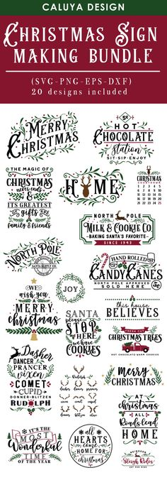 christmas cricut Christmas Sign Making SVG Cut File Bundle Deal Christmas Fonts, Christmas Quotes, Christmas Projects, Vintage Christmas, Merry Christmas Signs, Diy Christmas Wall Decor, Christmas Vinyl Crafts, Printable Christmas Ornaments, Cricut Christmas Ideas