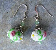 Cute European Bead Earrings - Would be great with jeans!