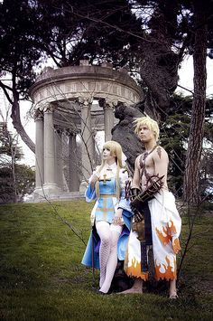 Archbishop and Shura (Ragnarok Online) by Calssara, via Flickr