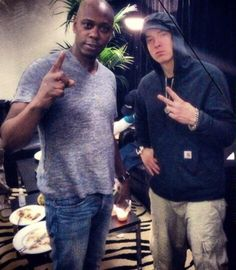 Unposted pic Dave Chappelle X Eminem Dave Chappelle, Best Rapper, Save My Life, Eminem, My Hero, Songs, My Love