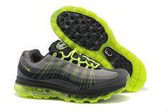 timeless design 197aa 542ba Men s Nike Air Max 95 360 Black Grey Volt Shoes