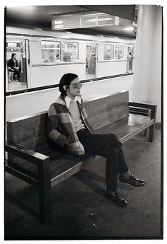 Iggy Pop, Berlin, 1978. Photo © Esther Friedman