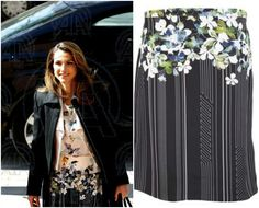 Philip Lim skirt, Queen Rania of Jordan