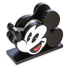 Disney Mickey Mouse Tape Dispenser - ''I Love Mickey'' Collection | Disney StoreMickey Mouse Tape Dispenser - ''I Love Mickey'' Collection - Mickey's an officemate who has your back when it comes to sticky situations. Our tape dispenser features sharp teeth for easy tearing and a wooden spool for easy loading. Coordinate it with our Mickey Mouse Stapler, sold separately.