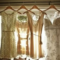 Vintage White Bridesmaid Dresses