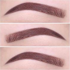 medium brown eyebrows