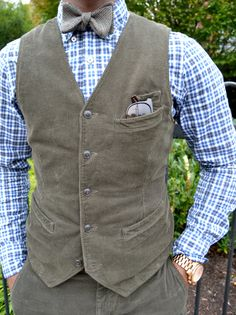 Corduroy Vest & Pants