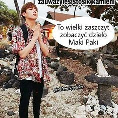 Asian Meme, Bts K Pop, Polish Memes, Boku No Hero Academy, Bts Pictures, Bts Memes, I Am Awesome, Kpop, Funny