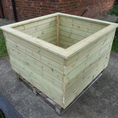 Made To Measure Bespoke Wooden Planters