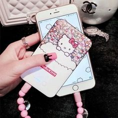 hello kitty Mobile Power Bank for iPhone and android 8800mah