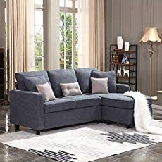 L Shaped Couch Small Living Room. 20 L Shaped Couch Small Living Room. Honbay Reversible Sectional sofa Couch for Living Room L Shape sofa Couch 4 Seat sofas Sectional for Apartment Dark Grey Xl Sofa, Sofa Couch, Chaise Sofa, Sofa Set, Sleeper Sofa, Sofa Design, Small Apartments, Small Spaces, Small Rooms
