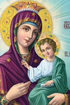 Even though you never had an earthly mother, the Theotokos will be a better Mother to you than any earthly Mother could ever be.