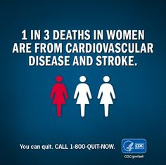 Living smokefree is one of the best ways to prevent heart attacks and strokes. Support the fight for healthier lives for all women.