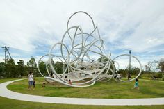 Forest Loops Sculptural Playground | 10 Ridiculously Cool Playgrounds Part 7 - Tinyme Blog