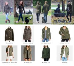 Kate Middleton Style. Shop repliKates of Barbour ladies 'Defence' jacket